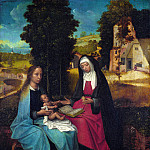 Part 5 National Gallery UK - Netherlandish - The Virgin and Child with Saint Anne