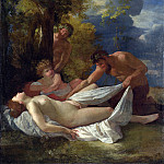 Nicolas Poussin – Nymph with Satyrs, Part 5 National Gallery UK