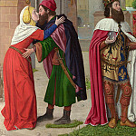 Master of Moulins – Charlemagne and the Meeting at the Golden Gate, Part 5 National Gallery UK
