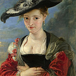 Peter Paul Rubens – Portrait of Susanna Lunden , Part 5 National Gallery UK