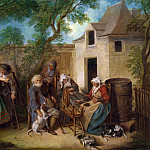 Part 5 National Gallery UK - Nicolas Lancret - The Four Ages of Man - Old Age