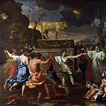 Nicolas Poussin – The Adoration of the Golden Calf, Part 5 National Gallery UK