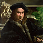 Part 5 National Gallery UK - Parmigianino - Portrait of a Collector