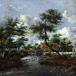 Meindert Hobbema – The Watermills at Singraven near Denekamp, Part 5 National Gallery UK