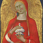 Master of the Palazzo Venezia Madonna – Saint Mary Magdalene, Part 5 National Gallery UK