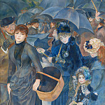 Pierre-Auguste Renoir – The Umbrellas, Part 5 National Gallery UK