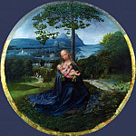 Netherlandish – The Virgin and Child in a Landscape, Part 5 National Gallery UK