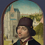 Master of the View of St Gudula – Portrait of a Young Man, Part 5 National Gallery UK