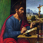 Pier Francesco Sacchi – Saint Paul Writing, Part 5 National Gallery UK