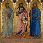 Part 5 National Gallery UK - Nardo di Cione - Three Saints