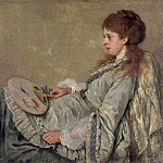 Otto Franz Scholderer – Portrait of the Artists Wife, Part 5 National Gallery UK