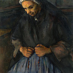An Old Woman with a Rosary, Paul Cezanne