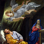 The Dream of Saint Joseph, Philippe De Champaigne