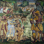 Luca Signorelli – The Triumph of Chastity – Love Disarmed and Bound, Part 5 National Gallery UK