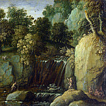 Marten Rijckaert – Landscape with Satyrs, Part 5 National Gallery UK