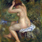A Bather, Pierre-Auguste Renoir