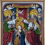 Master of Cappenberg – The Coronation of the Virgin, Part 5 National Gallery UK