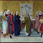 Master of the Life of the Virgin – The Presentation in the Temple, Part 5 National Gallery UK
