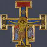 Master of Saint Francis – Crucifix, Part 5 National Gallery UK