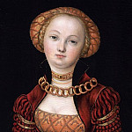 Part 5 National Gallery UK - Lucas Cranach the Elder - Portrait of a Woman