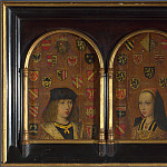 Pieter van Coninxloo – Diptych – Philip the Handsome and Margaret of Austria, Part 5 National Gallery UK