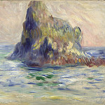 Part 5 National Gallery UK - Pierre-Auguste Renoir - Moulin Huet Bay, Guernsey