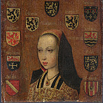 Pieter van Coninxloo – Margaret of Austria, Part 5 National Gallery UK
