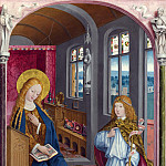 Master of Liesborn – The Annunciation, Part 5 National Gallery UK