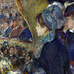 At the Theatre (La Premiere Sortie), Pierre-Auguste Renoir