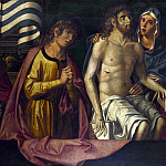 The Dead Christ with the Virgin and Saints, Marco Palmezzano