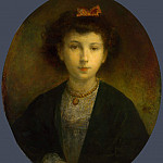 Part 5 National Gallery UK - Louis-Gustave Ricard - The Countess of Desart as a Child