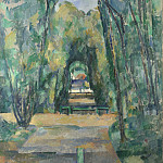 Avenue at Chantilly, Paul Cezanne