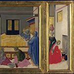 Master of the Osservanza – The Birth of the Virgin, Part 5 National Gallery UK