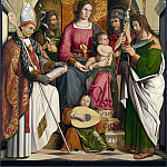 Part 5 National Gallery UK - Marco Marziale - The Virgin and Child with Saints
