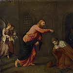 Part 5 National Gallery UK - Paris Bordone - Christ baptising Saint John Martyr