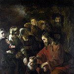 Nicolaes Maes – Christ blessing the Children, Part 5 National Gallery UK