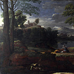 Nicolas Poussin – Landscape with a Man killed by a Snake, Part 5 National Gallery UK