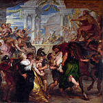 Peter Paul Rubens – The Rape of the Sabine Women, Part 5 National Gallery UK