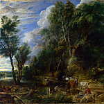 Peter Paul Rubens – The Watering Place, Part 5 National Gallery UK