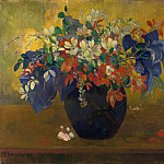 A Vase of Flowers, Paul Gauguin