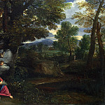 Pier Francesco Mola – The Rest on the Flight into Egypt, Part 5 National Gallery UK