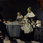 Michiel Nouts – A Family Group, Part 5 National Gallery UK