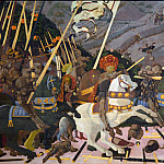Paolo Uccello – The Battle of San Romano, Part 5 National Gallery UK