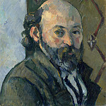 Self Portrait, Paul Cezanne