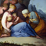 Part 5 National Gallery UK - Lubin Baugin - The Holy Family with Saints and Angels