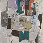Part 5 National Gallery UK - Pablo Picasso - Fruit Dish, Bottle and Violin