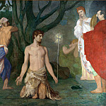 Pierre-Cecile Puvis de Chavannes – The Beheading of Saint John the Baptist, Part 5 National Gallery UK