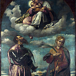 Part 5 National Gallery UK - Moretto da Brescia - The Madonna and Child with Saints