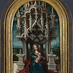 Part 5 National Gallery UK - Netherlandish - The Virgin and Child Enthroned