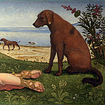 Part 5 National Gallery UK - Piero di Cosimo - A Satyr mourning over a Nymph